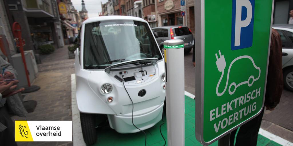 Oplaadpunten Voor Elektrische Voertuigen Vlaanderen Be