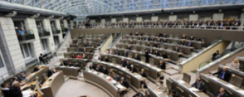 Vlaams Parlement in zitting