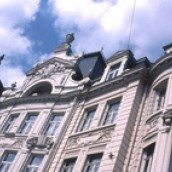 Houses on the Cogels Osyslei in Antwerp